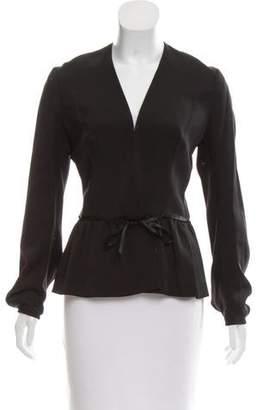 Martin Grant Silk Long Sleeve Jacket