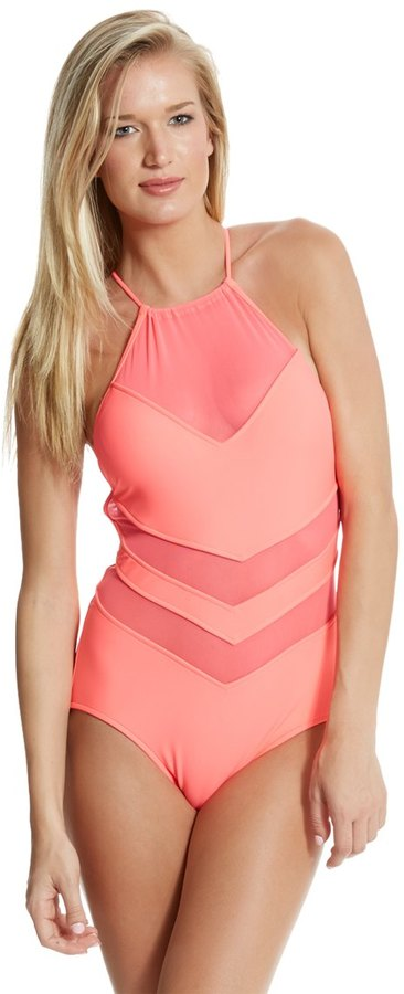 Seafolly High Neck One Piece Swimsuit 8118429