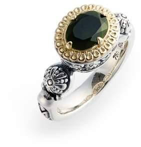 Konstantino Hermoine Two-Tone Semiprecious Stone Ring