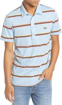 Lacoste Striped Regular Fit Jersey Polo