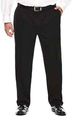 COLLECTION Collection by Michael Strahan Textured Twill Pleated Pants - Big &Tall