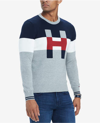 Tommy Hilfiger Men's H Colorblocked Sweater
