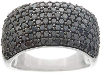 Affinity Diamond Jewelry Affinity Colored Diamond Band Ring, 2.00 cttw, Sterling Silver