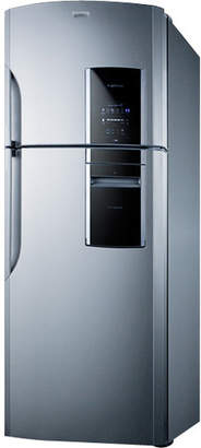 Summit Appliance Summit Ingenious 18.2 cu. ft. Counter Depth Top Freezer Refrigerator Handle Location: Left