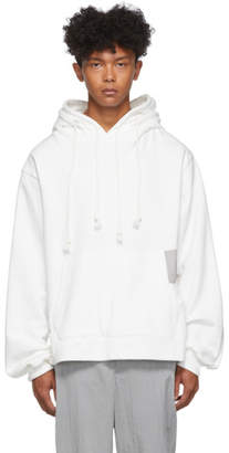Keenkee White Neck Pillow Style Hoodie