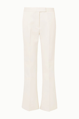 3.1 Phillip Lim Twill Straight-leg Pants - White