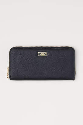 H&M Large Wallet - Black
