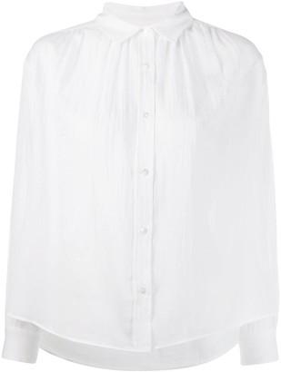 Masscob crease effect shirt