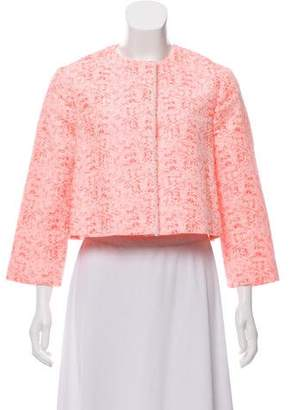 Christian Dior Cropped Patterned Jacket