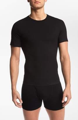 Spanx R) Crewneck Cotton Compression T-Shirt
