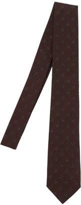 Tagliatore 7.5cm Floral Silk & Cotton Jacquard Tie