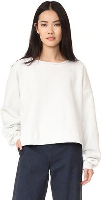 Rachel Comey Mingle Sweatshirt $196 thestylecure.com