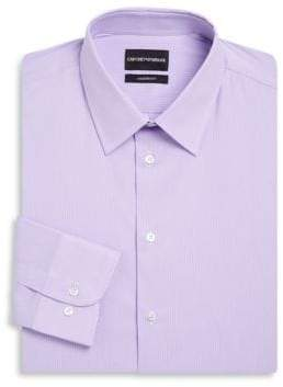 Emporio Armani Modern Fit Stripe Stretch Dress Shirt