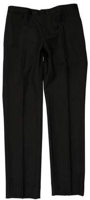 Burberry Flat Front Dress Pants