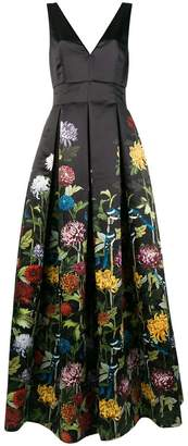 Alice + Olivia Alice+Olivia floral print ball gown