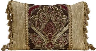 Croscill Classics Royal Red Bolster Throw Pillow
