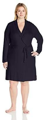 Arabella Women's Plus Size Short Robe