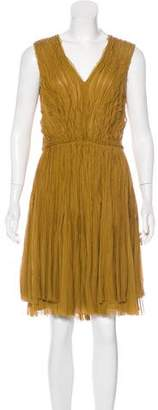 J. Mendel Silk Sleeveless Mini Dress w/ Tags