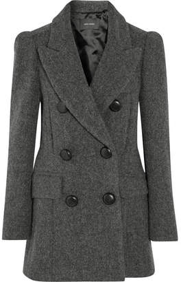 Isabel Marant Oversized Double-breasted Wool Coat - Gray