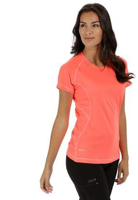 Regatta Orange 'Volito' Technical T-Shirt