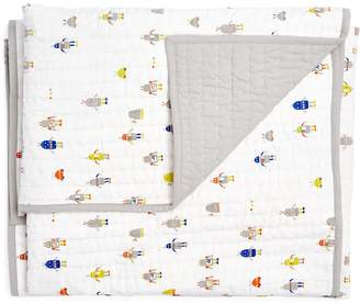Little Auggie Reversible Cotton Crib Quilt