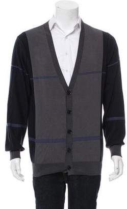 TSE Striped Rib Knit Cardigan w/ Tags