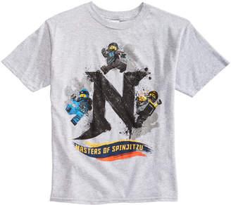 Lego Little Boys Master of Spinjitsu Graphic T-Shirt