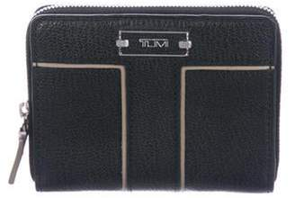 Tumi Leather Compact Wallet Black Leather Compact Wallet