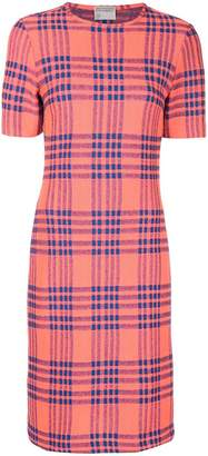 Cynthia Rowley plaid midi dress