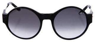 Proenza Schouler Tinted Circular Sunglasses