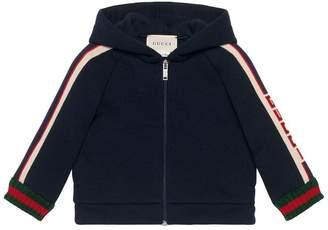Gucci Kids Baby sweatshirt with stripe