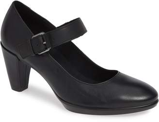 Ecco Shape 55 Plateau Mary Jane Pump