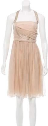 Fendi Silk Halter Dress