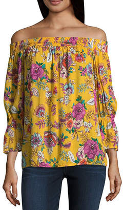 A.N.A Off the Shoulder Woven Blouse - Tall