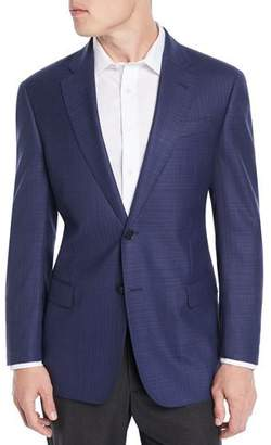 Emporio Armani Men's Textured Wool Blazer