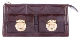 Marc JacobsMarc Jacobs Quilted Leather Wallet