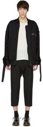 Song For The Mute Black Coordinates Coach Bomber Jacket