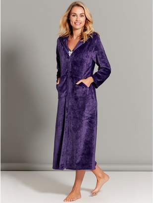 Zip Front Robe Shopstyle Uk