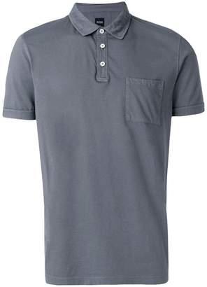 HUGO BOSS patch pocket polo shirt