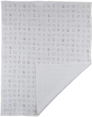 Living Textiles My First Alphabet Matelasse Blanket