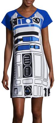 DISNEY Disney Star Wars Short-Sleeve R2D2 Nightshirt $30 thestylecure.com
