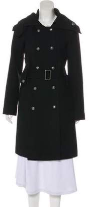 Elizabeth and James Wool Long Sleeve Long Coat