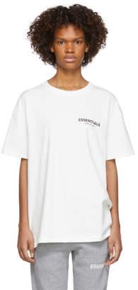 Essentials White Logo T-Shirt