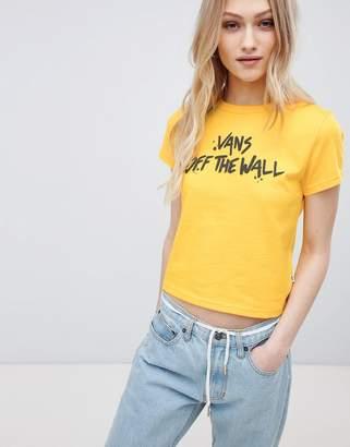 Vans Yellow Off The Wall T-Shirt