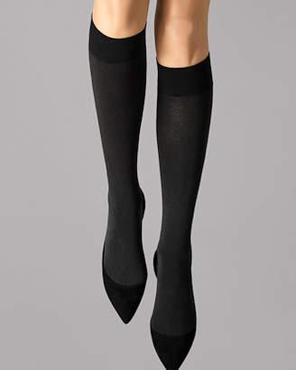 Wolford Cotton Velvet Knee Highs