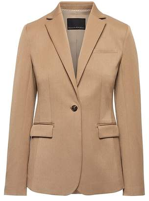 Banana Republic Long and Lean-Fit Machine-Washable Blazer