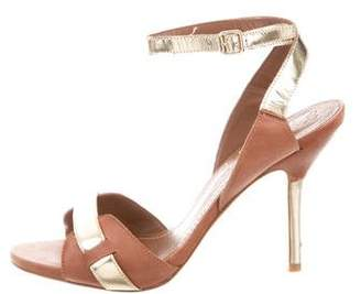 Elizabeth and James High-Heel Leather Sandals