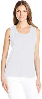 Fresh Women's Basic Rib Trimmed Tank Top