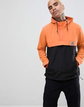 Carhartt WIP Two Tone Nimbus Overhead Jacket In Orange