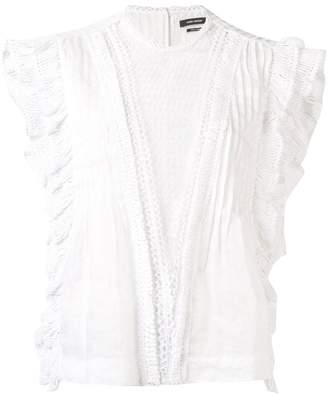 Isabel Marant embroidered blouse